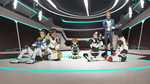 52. Team Voltron taking a break from training