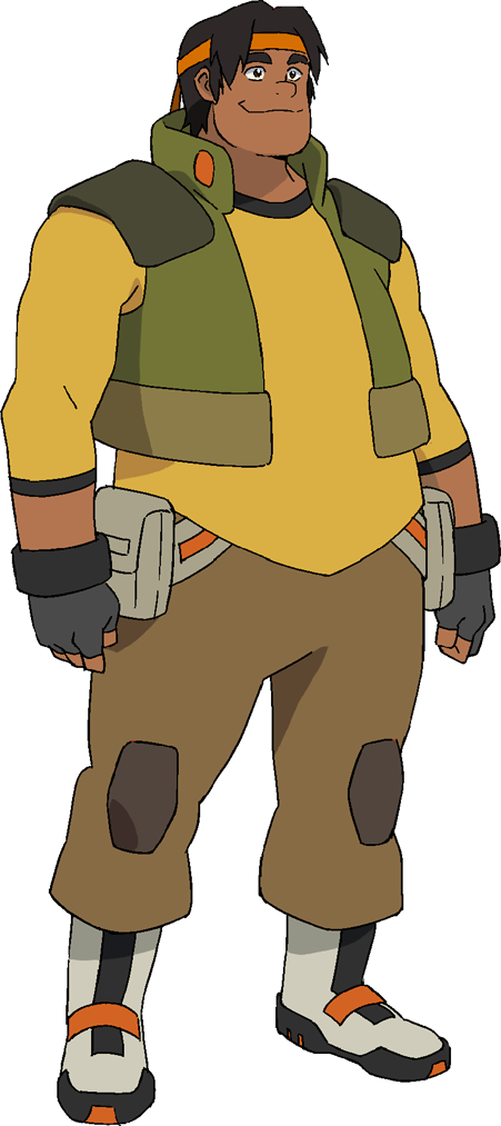 how tall is hunk voltron