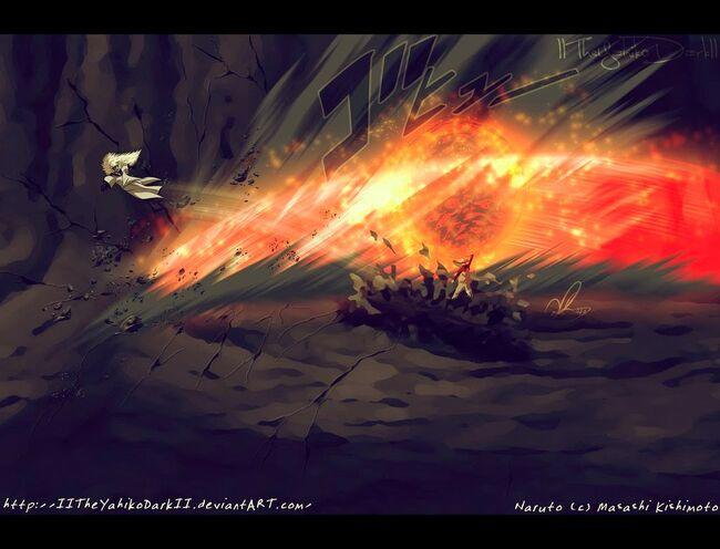 Madara avs Naruto Lava Rasenshuriken