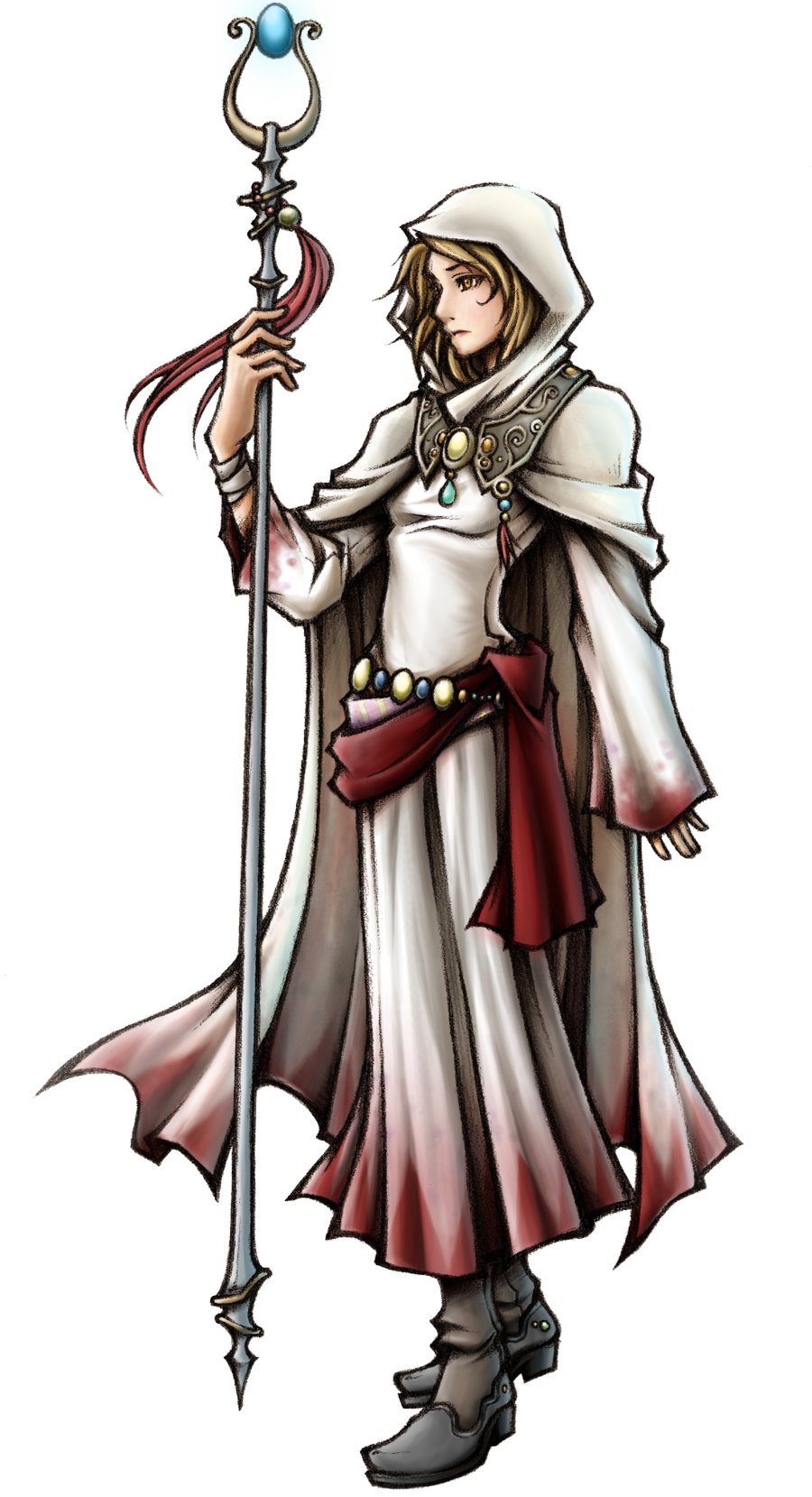 Difference Between Concept Art And Character Design : White mage of light vs battles wiki fandom powered by