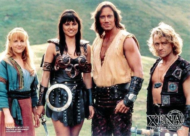 Hercules: The Legendary Journeys & Xena: Warrior Princess ...