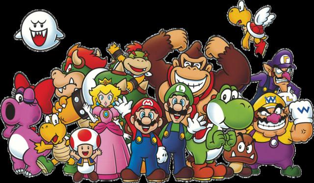 Club Nintendo Characters Render By Skodwarde