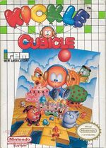 Kickle Cubicle NES cover
