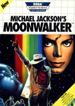 Michael Jacksons Moonwalker SMS box art