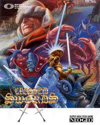 Crossed Swords Neo Geo cover