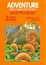 Atari 2600 Adventure box art