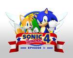 Sonic the Hedgehog 4 Ouya cover
