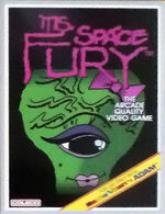 Ms Space Fury Colecovision cover