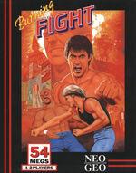 Burning Fight Neo Geo box