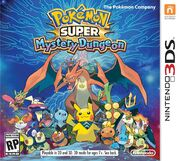Pokemon super mystery dungeon boxart