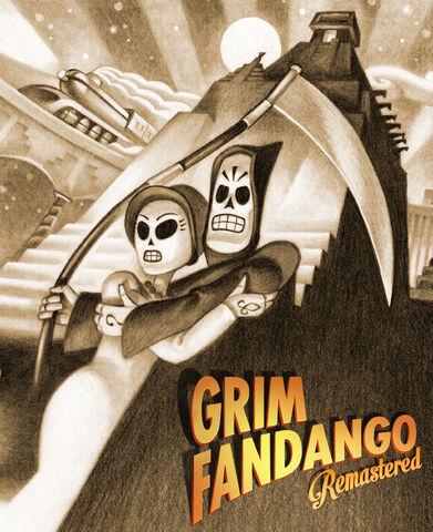 File:Grim Fandango Remastered cover.jpg