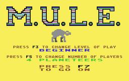 C64 mule title