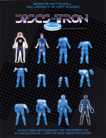 Discs of Tron arcade flyer