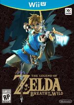 The Legend of Zelda Breath of the Wild WiiU cover
