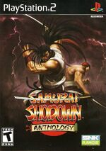 Samurai Shodown Anthology PS2 cover