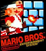 Super Mario Bros NES cover