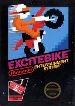 Excitebike NES cover