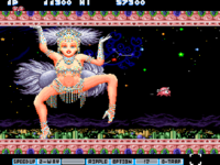 Parodius Da X68000 screenshot