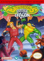 Battletoads And Double Dragon NES cover