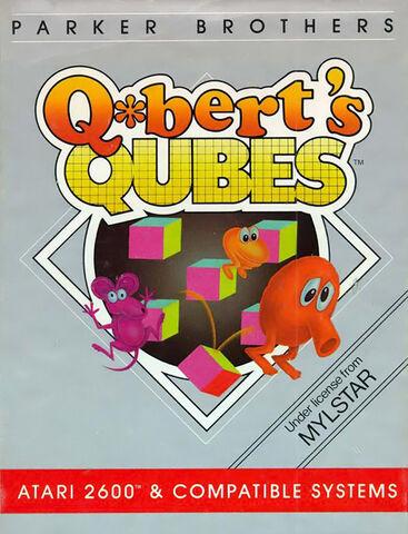 File:Atari 2600 Qbert Qubes box art.jpg