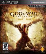 God of War Ascencion PS3 cover