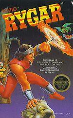 Rygar NES cover