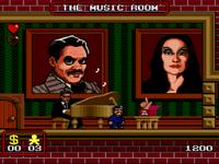 The Addams Family SNES screenshot