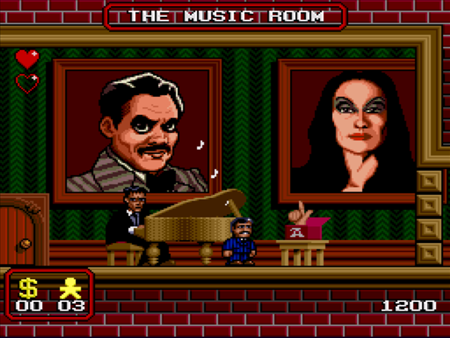 File:The Addams Family SNES screenshot.png
