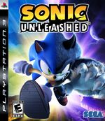 Sonic unleashed ps3 cover