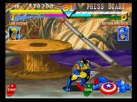 Marvel super heroes screenshot