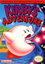 Kirbys Adventure NES cover