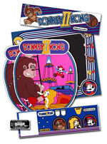 Donkey Kong II Jumpman Returns arcade flyer