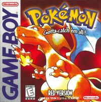 Pokemon red box