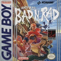Skate or Die Bad N Rad GB cover