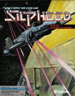Silpheed MS-DOS cover