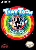 Tiny Toon Adventures NES cover