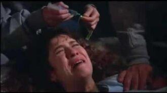 V The Final Battle Thealien Birthing Scene 1984