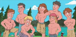 Diversity in AandF catalogue on Family Guy