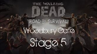The Walking Dead- Road to Survival Woodbury Gates Stage 5
