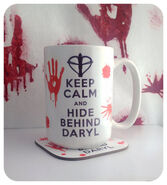 Keep Calm and Hide Behind Daryl (Dixon)