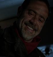 Negan's smile S7E1