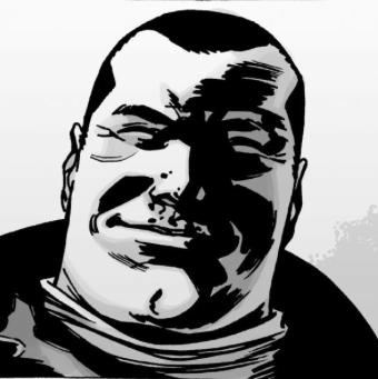 File:Issue 107 Negan Smirk.png