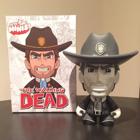 """File:Skybound Minis (Rick Grimes 8"""" - Black and White).jpg.png"""