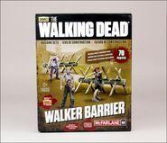 The Walking Dead TV Walker Barrier Building Set