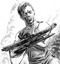 File:Daryl in Comics Fan Art.png