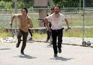 Glenn running
