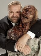 Kirkman with Zombie