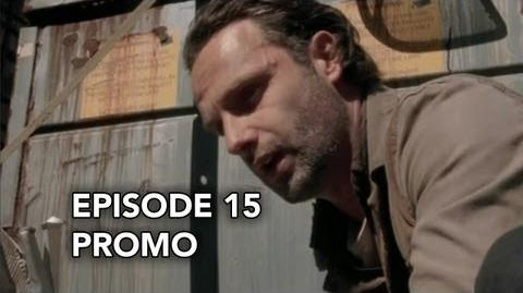 "The Walking Dead 3x15 Promo ""This Sorrowful Life"""