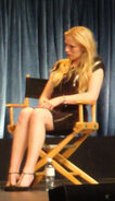Emma Bell at the PaleyFest 2011