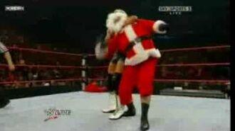 WWE Dolph Ziggler vs Santa Claas
